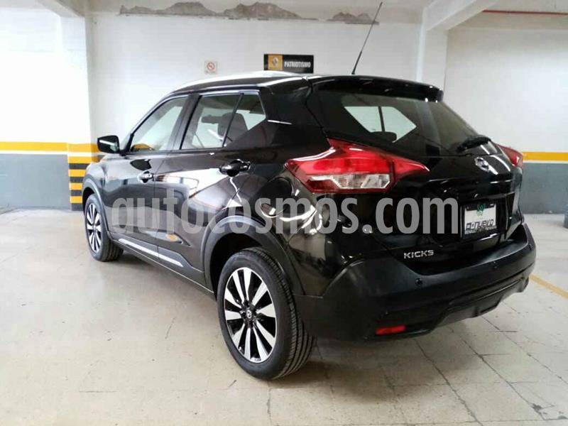 Nissan Kicks Advance Aut usado (2018) color Negro precio $259,000