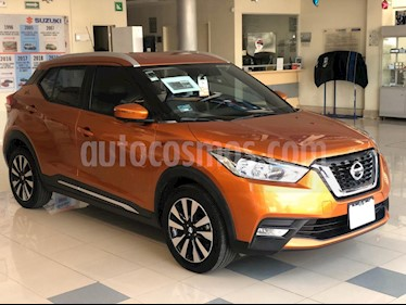 Nissan Kicks Exclusive Aut usado (2018) color Naranja precio $273,000