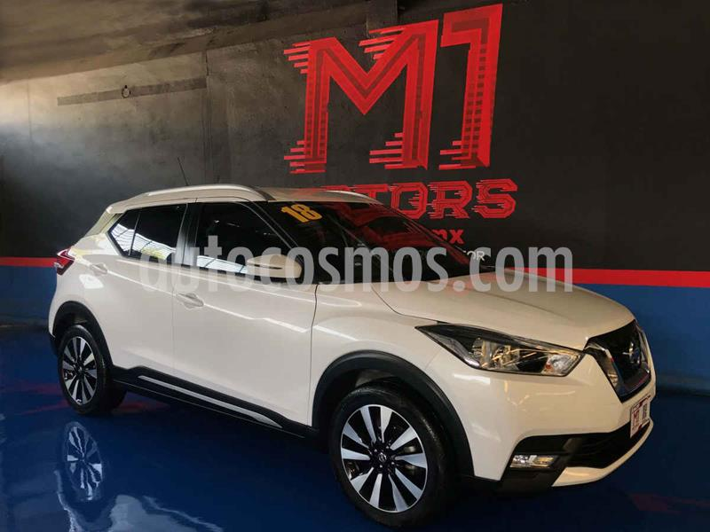 Nissan Kicks Exclusive Aut usado (2018) color Blanco precio $272,000