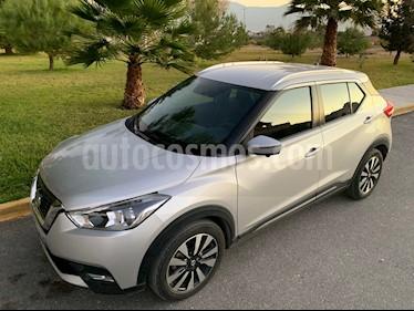 Nissan Kicks Exclusive Aut usado (2017) color Plata precio $242,000