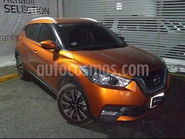 Nissan Kicks Exclusive Aut usado (2018) color Naranja Metalico precio $290,000