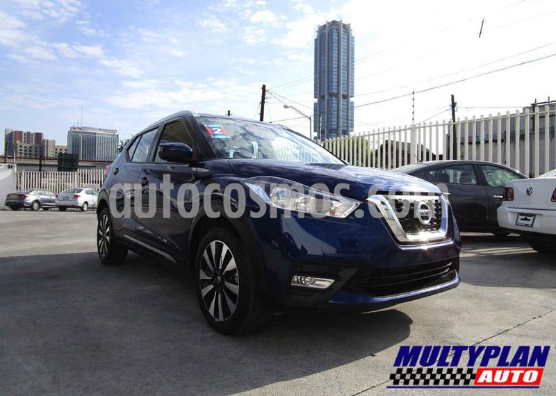 Nissan Kicks Exclusive Aut usado (2018) color Azul precio $278,000