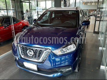 Nissan Kicks Exclusive Aut usado (2018) color Azul precio $285,000