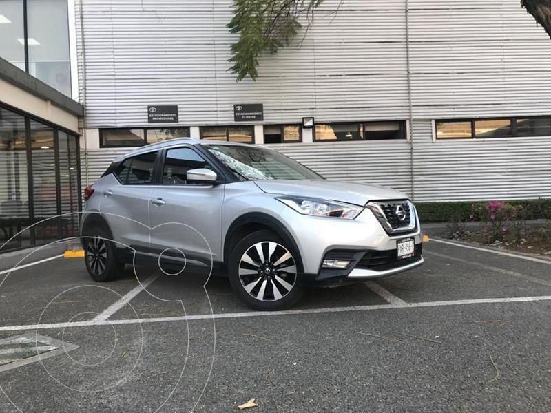 Nissan Kicks Exclusive Aut usado (2018) color Plata Dorado precio $280,000