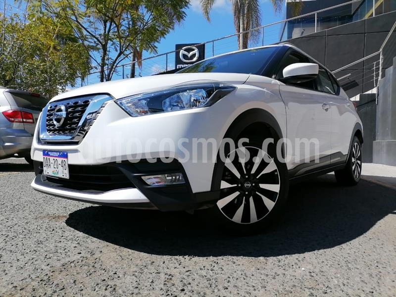 Nissan Kicks Advance Aut usado (2020) color Blanco Perla precio $295,000
