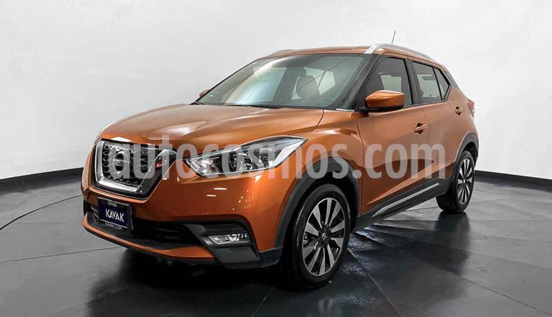 Nissan Kicks Advance Aut usado (2017) color Cafe precio $247,999