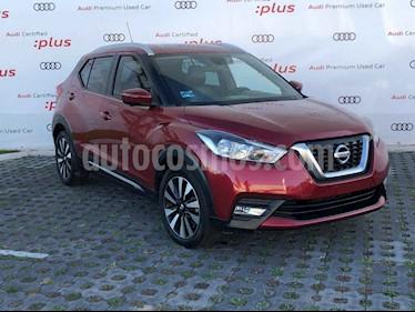 Nissan Kicks Exclusive Aut usado (2017) color Vino Tinto precio $249,801