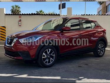 Nissan Kicks 5p Sense L4/Man usado (2018) color Rojo precio $224,900