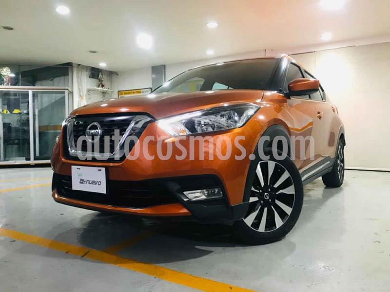 Nissan Kicks Advance Aut usado (2018) color Naranja precio $259,000