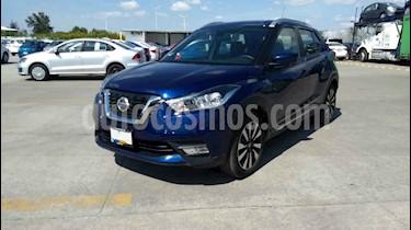 Nissan Kicks Advance Aut usado (2019) color Azul precio $263,900