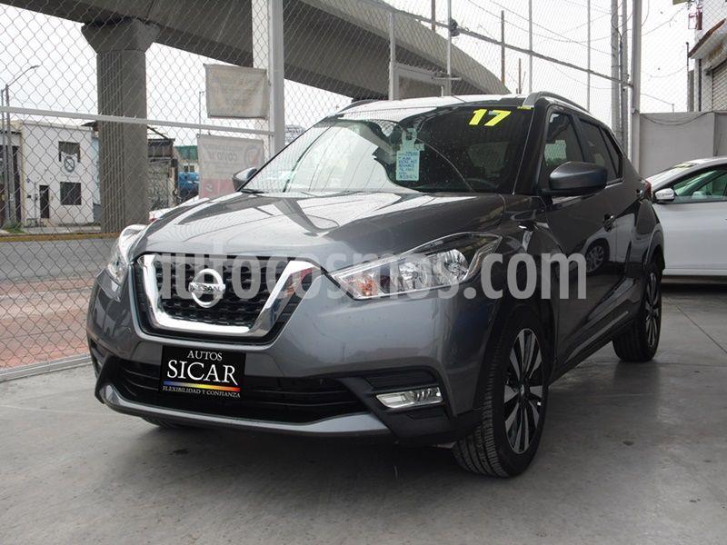 Nissan Kicks Advance Aut usado (2017) color Gris Oscuro precio $229,000