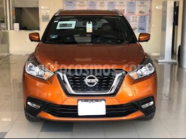 Nissan Kicks Exclusive Aut usado (2018) color Naranja precio $263,000