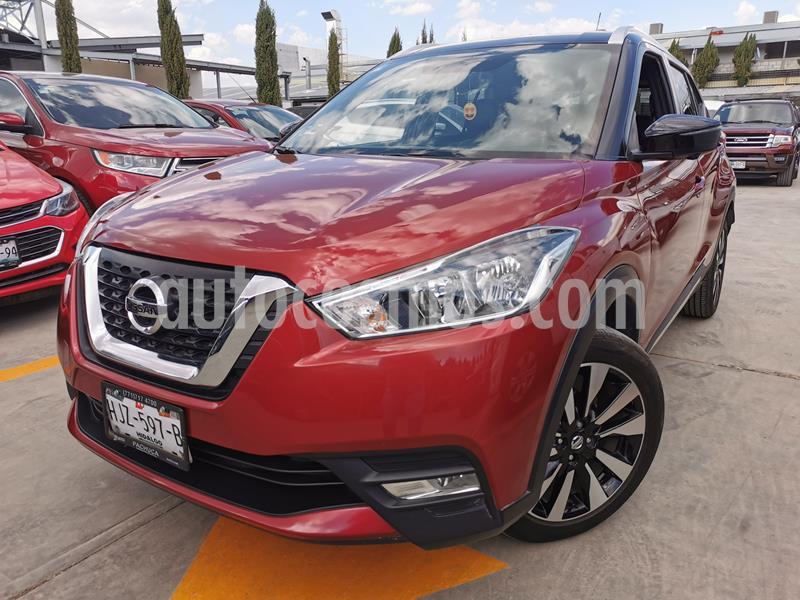 Foto Nissan Kicks Exclusive Aut usado (2019) color Rojo Metalizado precio $315,000