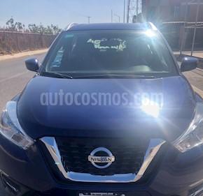 Nissan Kicks Advance Aut usado (2017) color Azul Cobalto precio $220,000