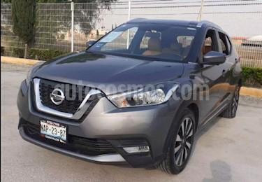 Nissan Kicks 5p Exclusive L4/1.6 Aut usado (2017) color Plata precio $250,000