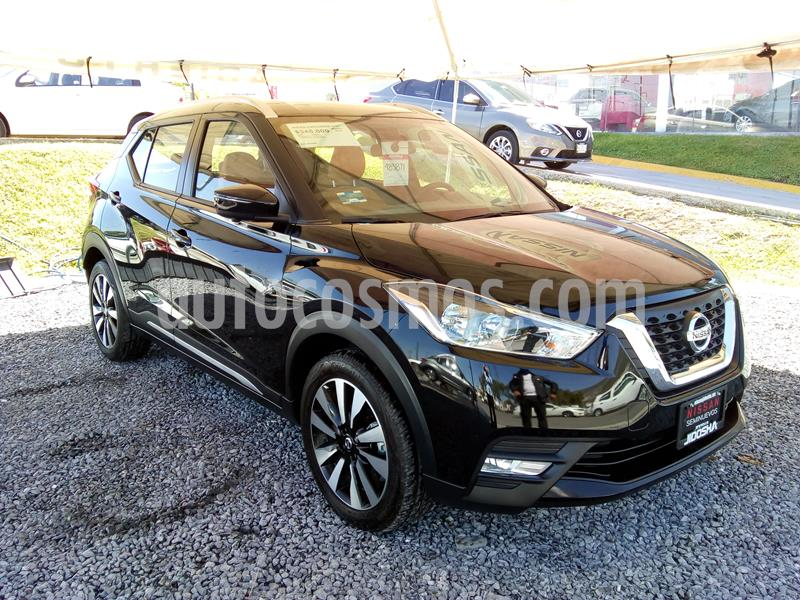 Nissan Kicks Exclusive Aut usado (2019) color Negro precio $343,521