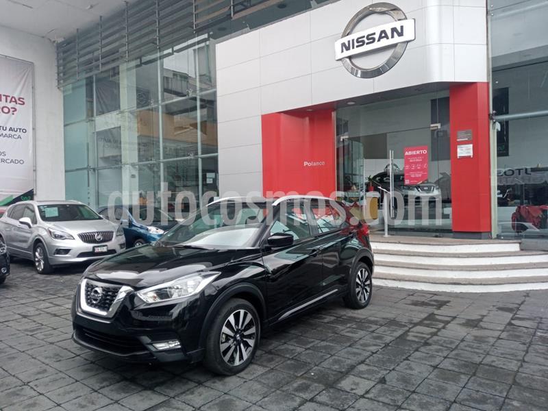 Nissan Kicks Advance Aut usado (2018) color Negro precio $270,000