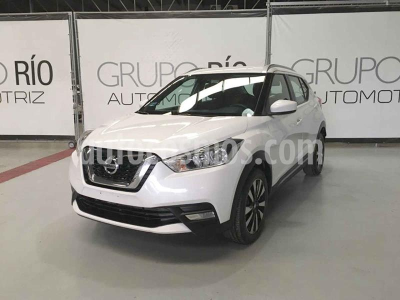 Nissan Kicks Advance Aut usado (2017) color Blanco precio $235,000