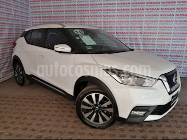 Nissan Kicks Exclusive Aut usado (2018) color Blanco Perla precio $290,000