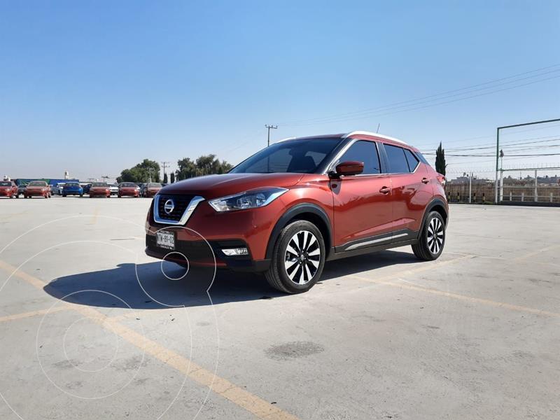 Foto Nissan Kicks Exclusive Aut usado (2020) color Rojo precio $353,900
