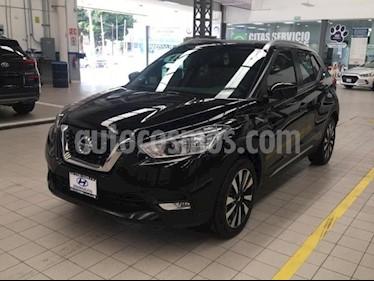 Nissan Kicks 5p Advance L4/1.6 Aut usado (2018) color Negro precio $279,000