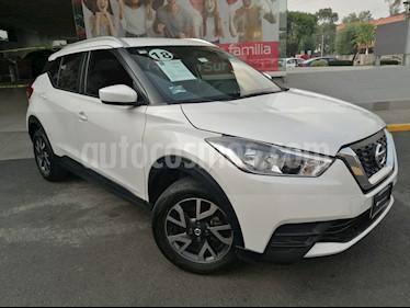 Nissan Kicks Sense usado (2018) color Blanco Perla precio $225,000