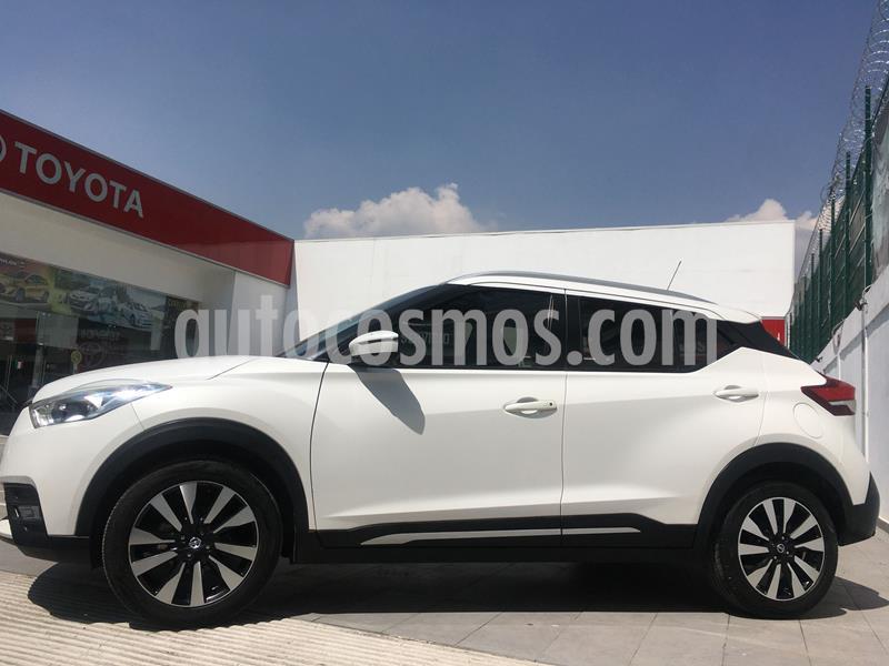 Foto Nissan Kicks Exclusive Aut usado (2018) color Blanco precio $255,000