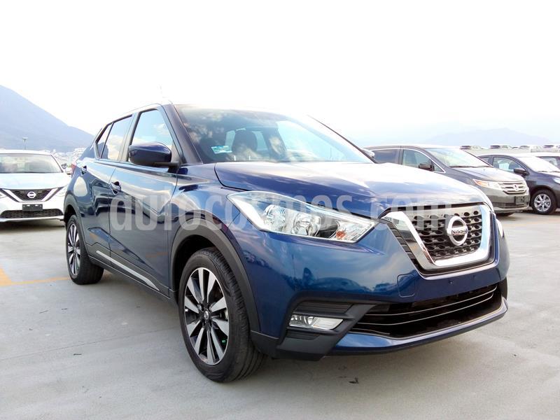 Nissan Kicks Fan Edition Aut usado (2018) color Azul precio $287,000