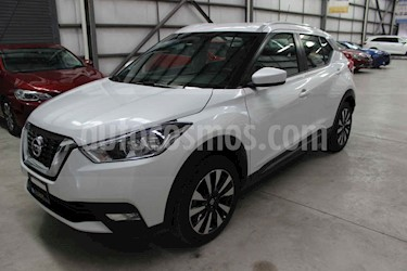 Nissan Kicks 5p Advance L4/1.6 Aut usado (2019) color Blanco precio $263,900