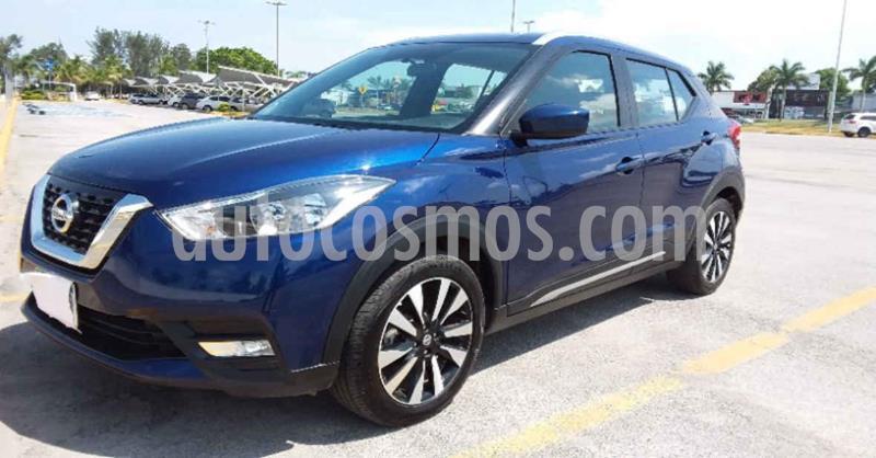 Nissan Kicks Advance Aut usado (2020) color Azul precio $219,900