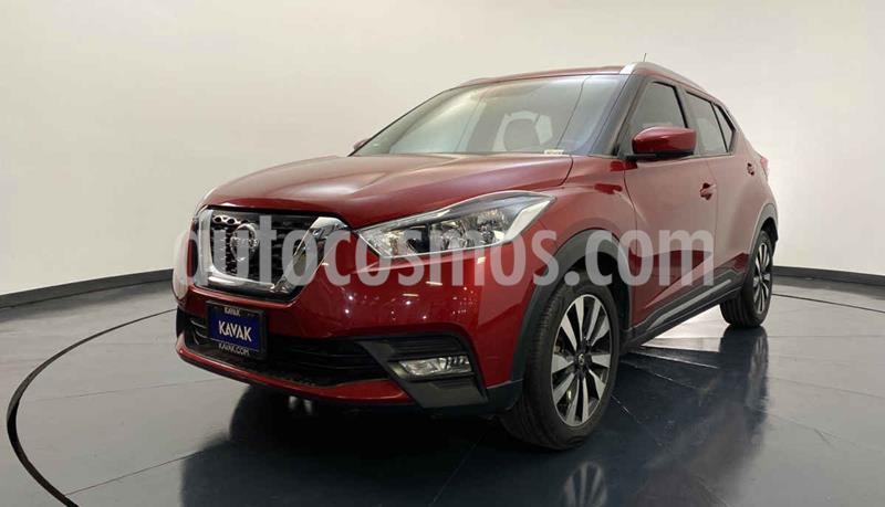 Nissan Kicks Advance Aut usado (2017) color Rojo precio $252,999