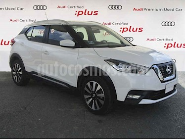 Nissan Kicks Advance Aut usado (2017) color Blanco precio $250,000