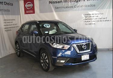 Nissan Kicks Advance Aut usado (2019) color Azul Cobalto precio $298,000