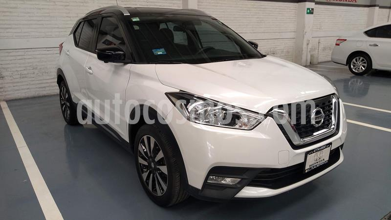 Nissan Kicks Exclusive Aut usado (2018) color Blanco precio $299,000