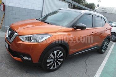Nissan Kicks Exclusive Aut usado (2018) color Naranja precio $289,000
