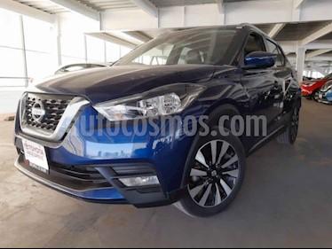 Nissan Kicks 5p Exclusive L4/1.6 Aut usado (2017) color Azul precio $253,000