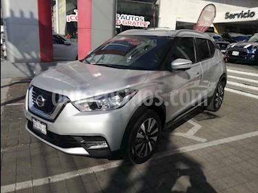 Nissan Kicks Exclusive Aut usado (2018) color Plata precio $295,000
