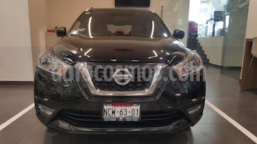 Nissan Kicks 5P EXCLUSIVE BITONO L4/1.6 AUT usado (2018) color Negro precio $289,900