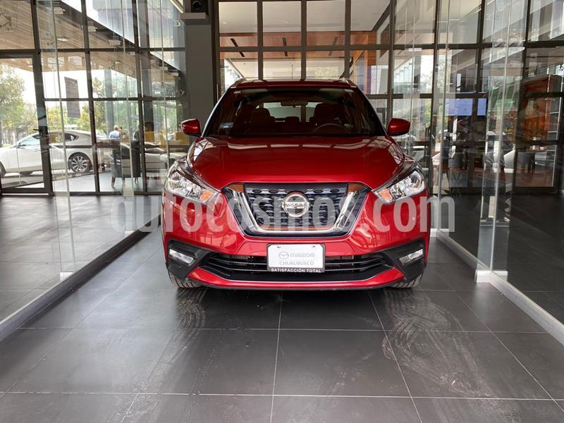 Nissan Kicks Advance Aut usado (2020) color Rojo Metalizado precio $289,000