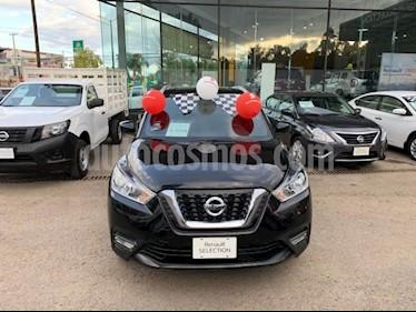 Nissan Kicks 5p Advance L4/1.6 Aut usado (2017) color Negro precio $285,000
