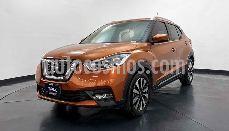 Nissan Kicks Advance Aut usado (2017) color Naranja precio $252,999