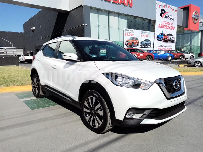 Nissan Kicks Exclusive Aut usado (2020) color Blanco precio $385,900