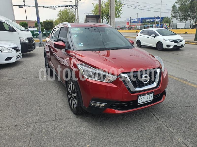 Nissan Kicks Advance Aut usado (2018) color Rojo precio $255,000