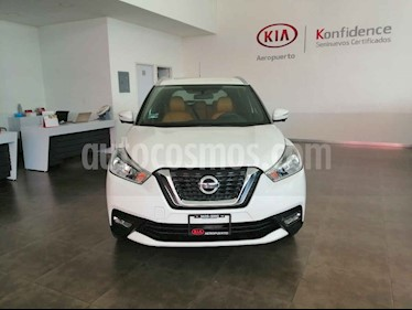 Foto Nissan Kicks 5p Exclusive L4 Aut usado (2018) color Blanco precio $287,000