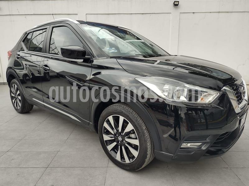 Nissan Kicks Advance Aut usado (2018) color Negro precio $235,000