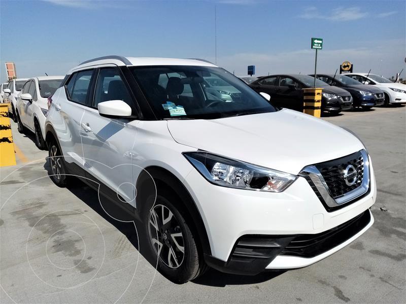 Nissan Kicks Sense usado (2020) color Blanco precio $315,900