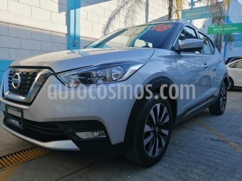 Nissan Kicks Advance Aut usado (2018) color Plata Dorado precio $254,900