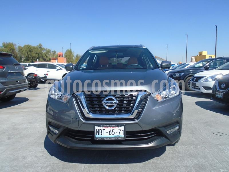 Nissan Kicks Exclusive Aut usado (2017) color Gris Oscuro precio $245,500
