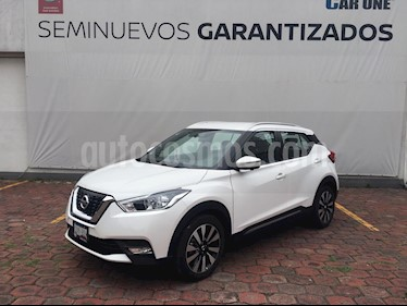 Nissan Kicks Exclusive Aut usado (2020) color Blanco Perla precio $364,900