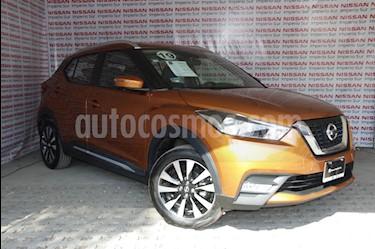 Nissan Kicks Exclusive Aut usado (2019) color Naranja precio $310,000